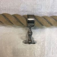 Synthetic Hemp Grey Wormed Bannister Ropes